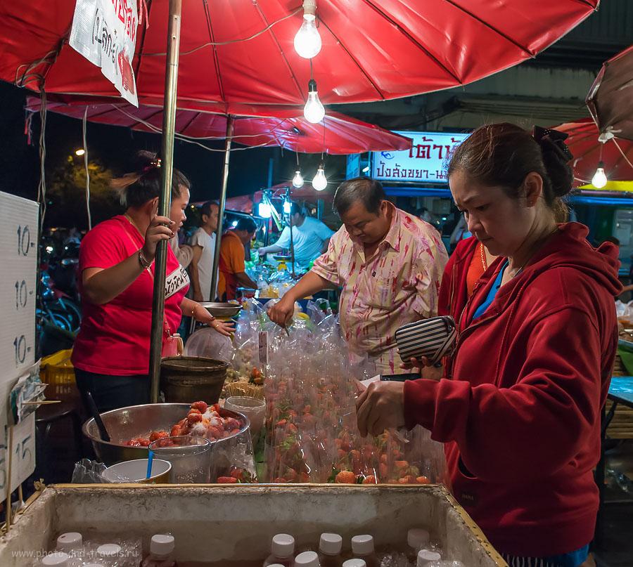 Фото 10. Клубничка. Отзывы туристов об отдыхе в Таиланде самостоятельно (параметры съемки: ISO 3200, f/5.6, 1/400)