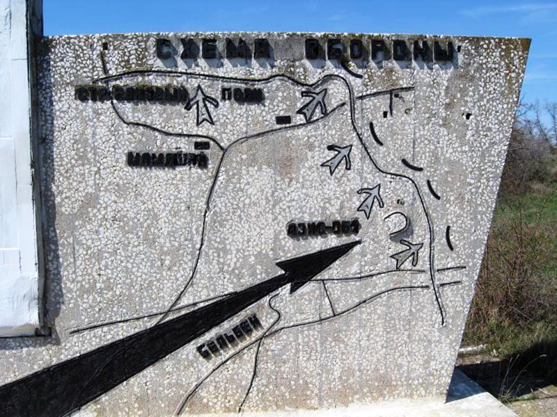 Памятник 8-й бригаде Черноморского флота