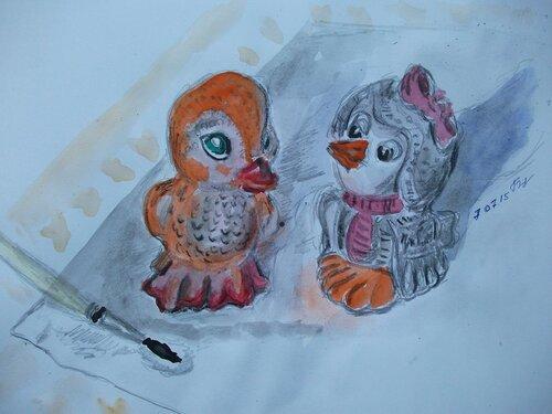 Утенок и Каркуша
