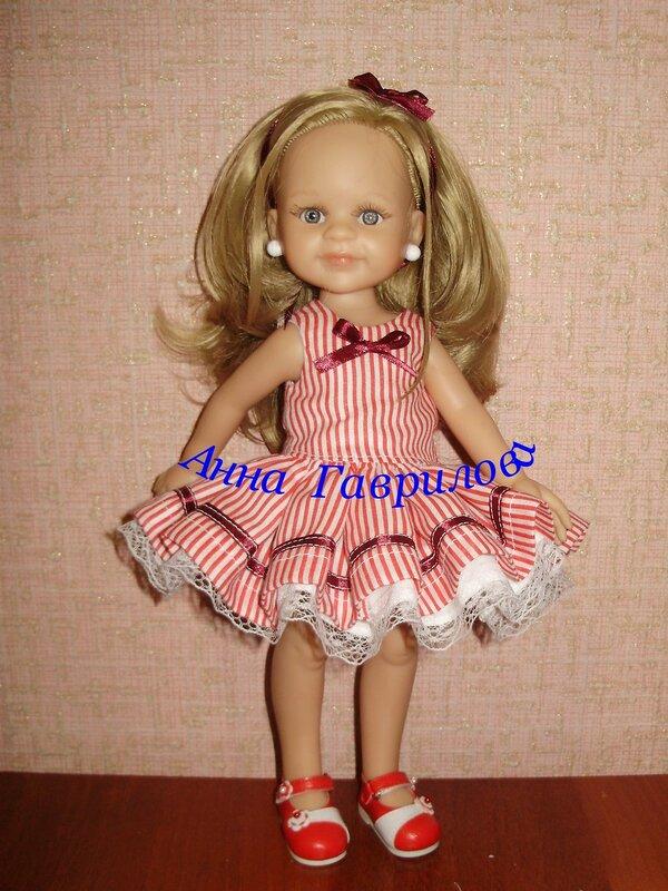 Платье для Paola Reina Одежда для кукол Шопик Продать