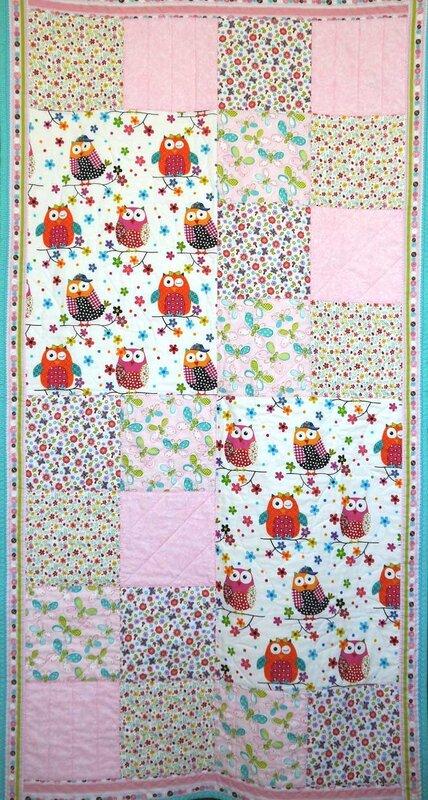 одеяло с совами