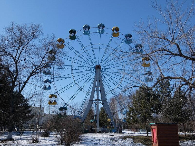 Белово | Колесо обозрения в Центральном парке
