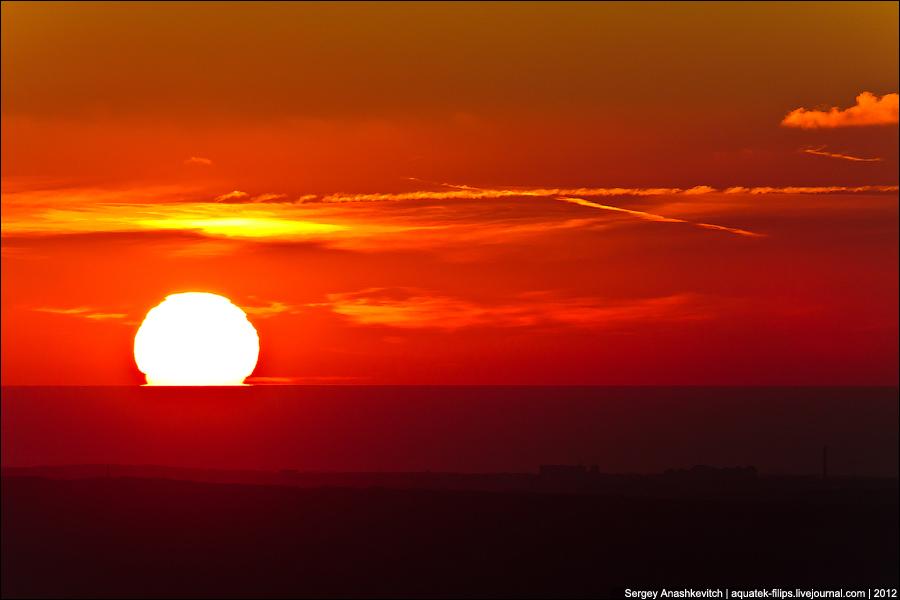 Закат над Севастополем