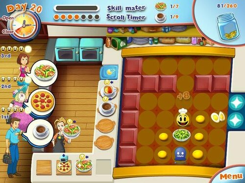PAC-MAN Pizza Parlor screenshot 1