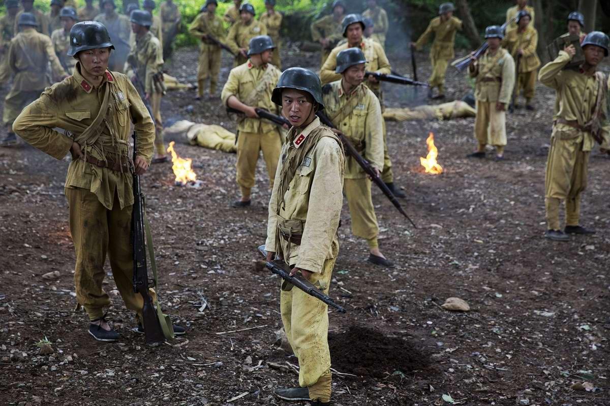 Война и немцы: На съемках китайского телесериала о 2-й мировой войне (7)