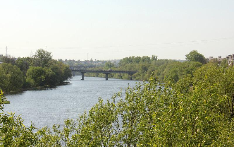Ока и мосты