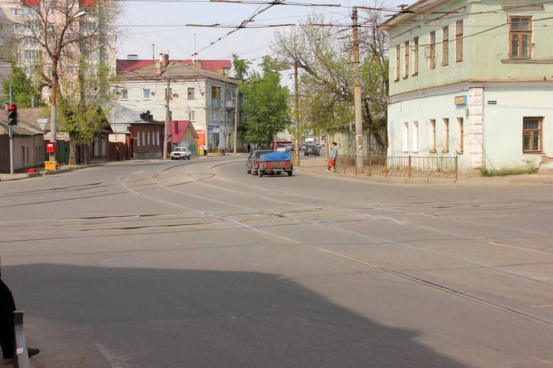 Трамвайный перекрёсток