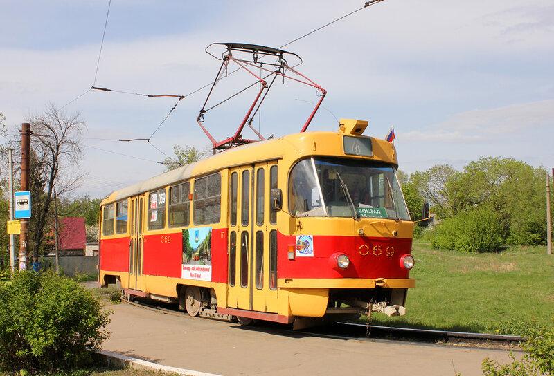 Трамвай 069