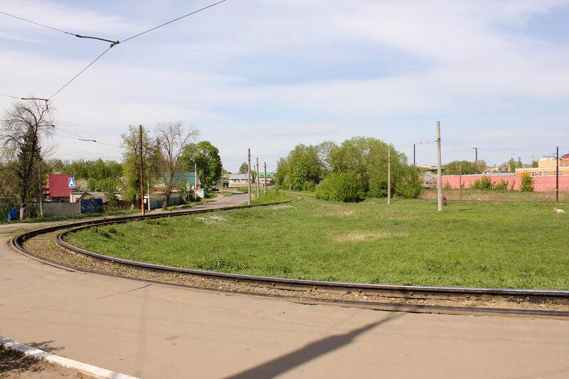 Кольцо трамвая номер 4