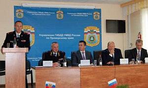 Новым начальником ГИБДД по Приморскому краю стал Олег Зубакин