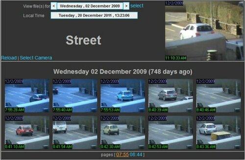 наблюдение веб камерой