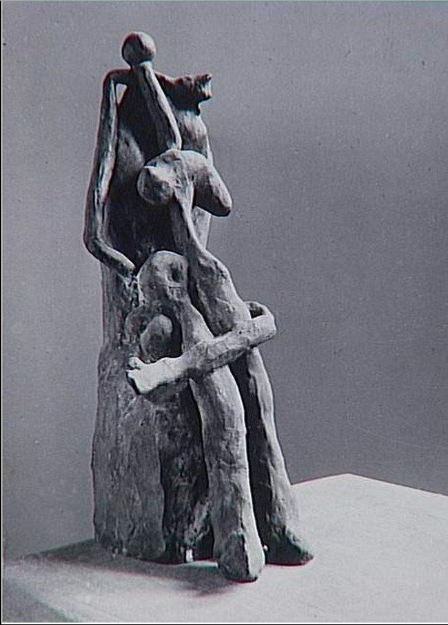 1932. Пикассо. Женщина на троне