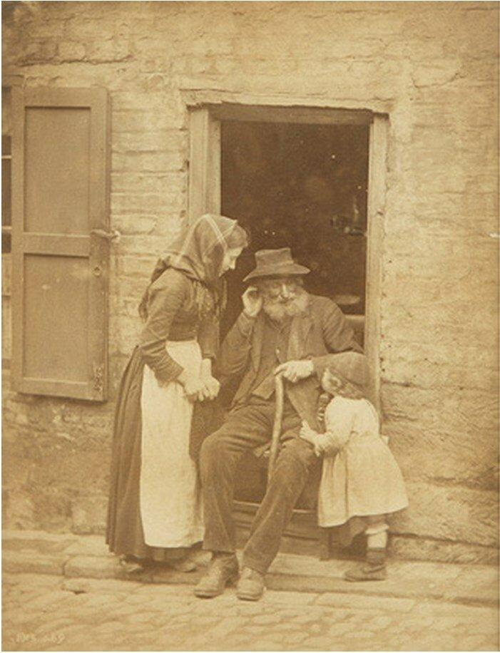 1890. Уличная сценка в Уитби