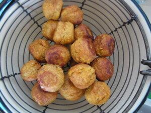 Картофельное рагу с чечевичными тефтелями