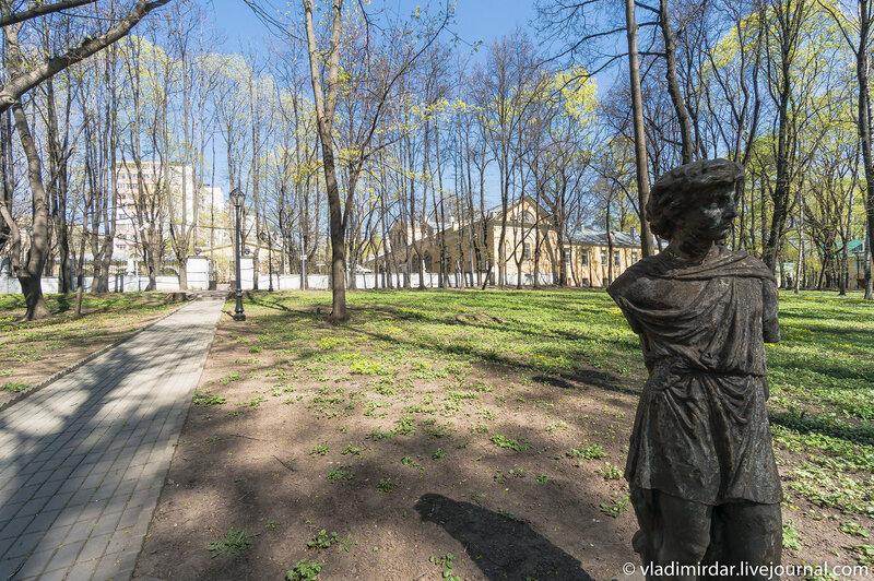 Парк в усадьбе Усачевых-Найденовых