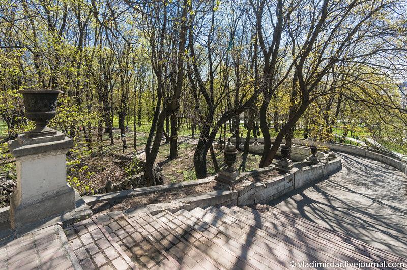 Сход в парк в Усадьбе Усачевых-Найденовых