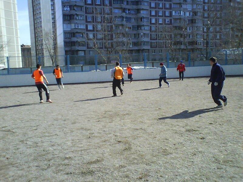 Поиграли с хоккеистом Алексеем Кровопусковым