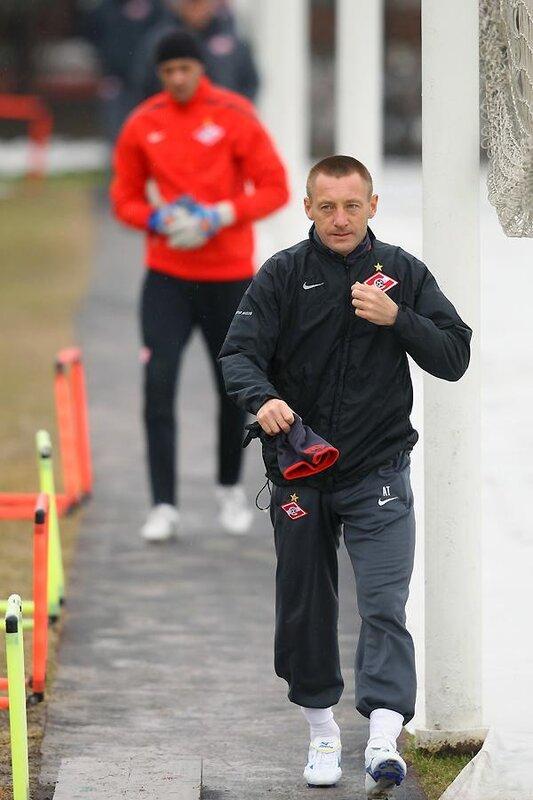 Тренировка «Спартака» перед матчем с «Порту»