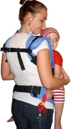 Эргономичный рюкзак прямые лямки