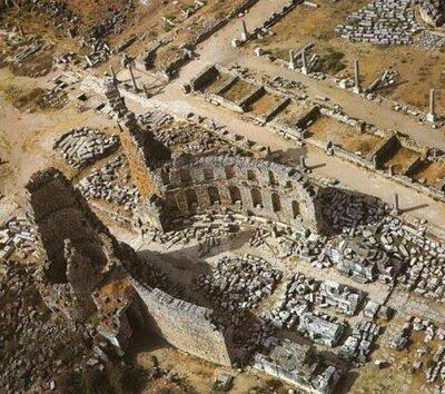 Античный город Перге