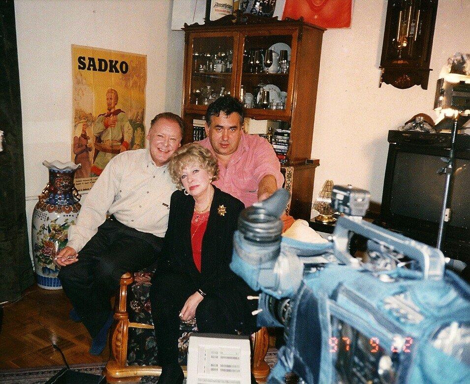 Стас Садальский, Кирилл Столяров, Алла Ларионова, 1997 год
