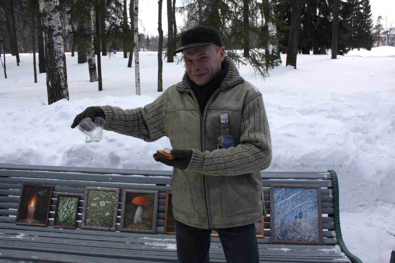 Павловский художник и его картины.