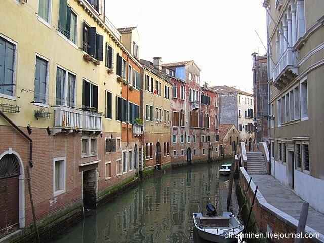 Итальянские двери на уровне воды