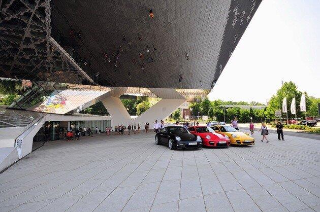 Музей Порше (Porsche Museum) в Штутгарте