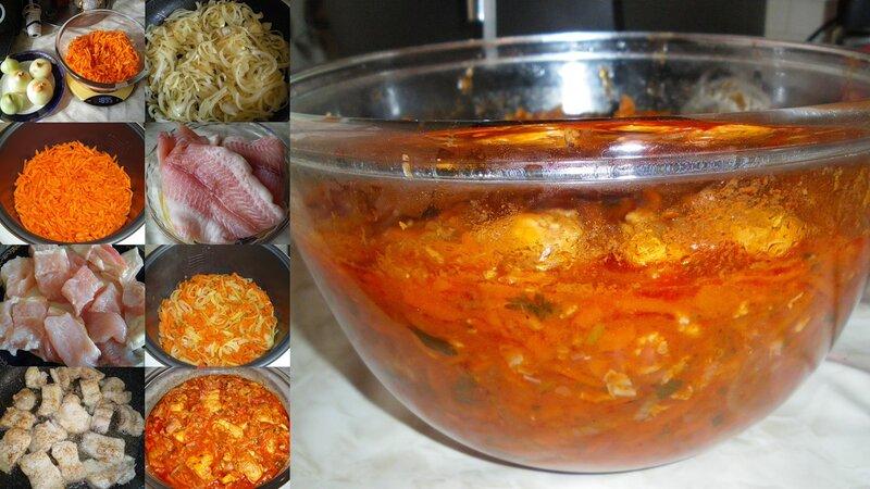 Как сделать маринад для рыбы под маринадом с уксусом рецепт