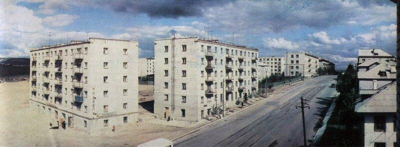 Дома по улице Азина, 1967 год