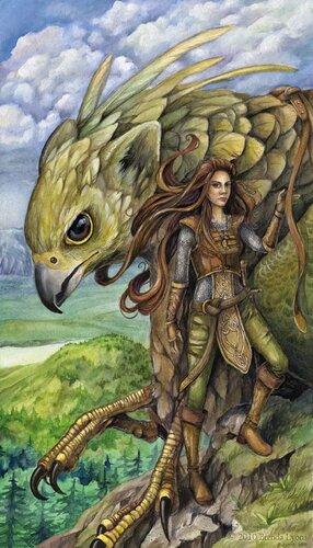 Brenda Lyons. Гордые птицы из мифов