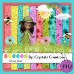 «Весенне-пасхальный. Spring Song_CrystalsCreations» 0_5b34f_242efb7e_S
