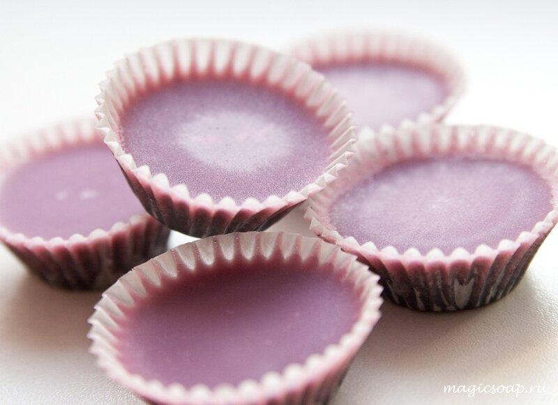 Гидрофильная плитка-скраб с розовой глиной