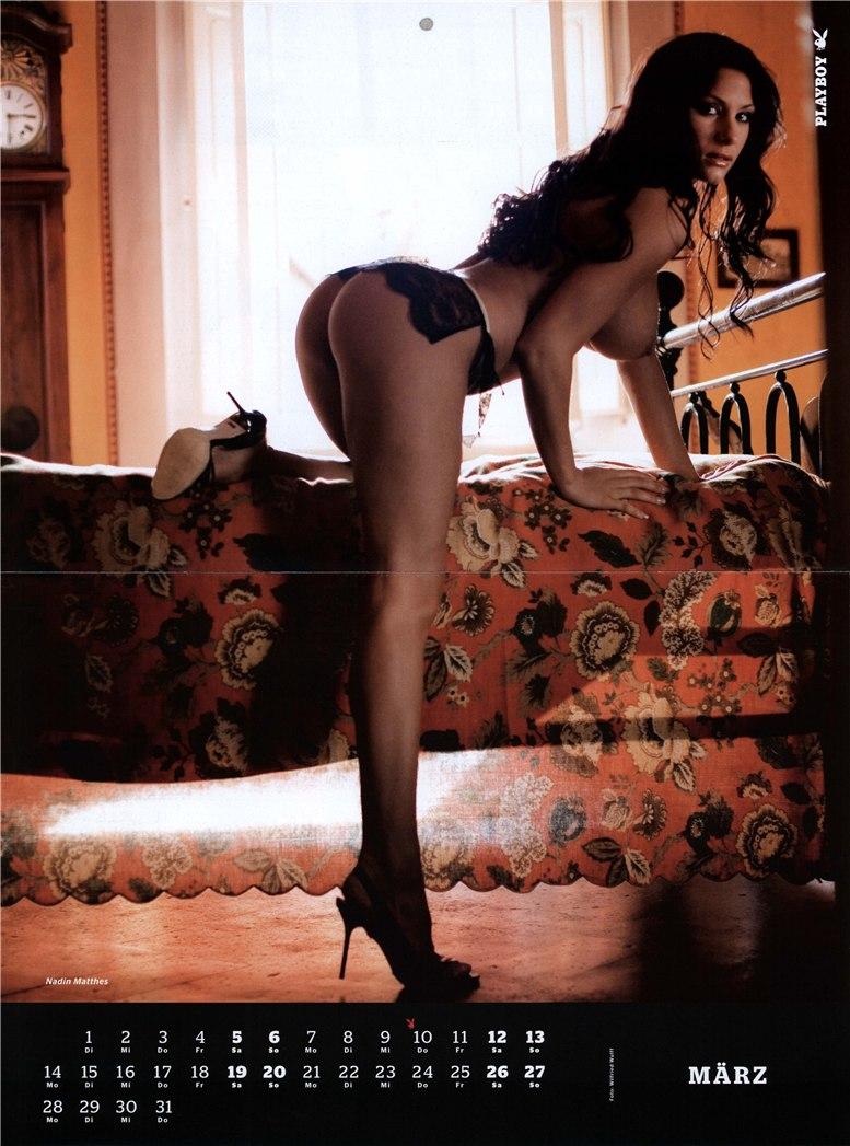 календарь Playboy Germany Playmate Calendar 2011 - Nadin Matthes
