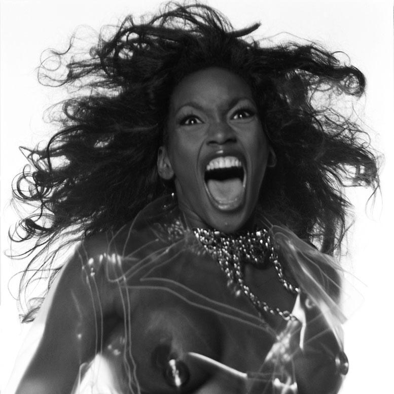 модель Наоми Кэмпбелл / Naomi Campbell, фотограф Michel Comte