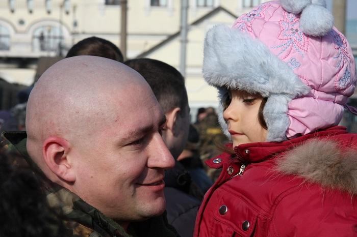 Два отряда приморской милиции отправились в Чеченскую республику