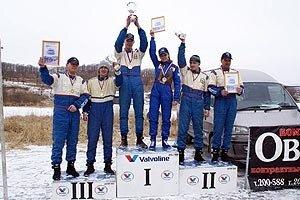 Находкинские гонщики лучшие в Приморье