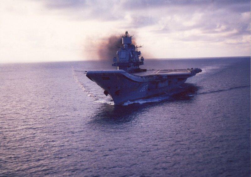 ТАКР пр.1143.5 «Адмирал Кузнецов».