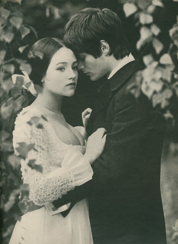Olivia Hussey by Norman Parkinson