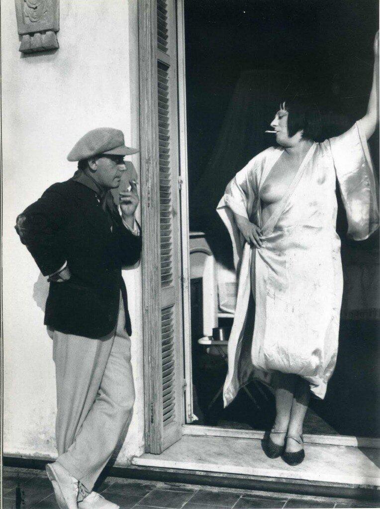 Man Ray, Проститутка, 1925