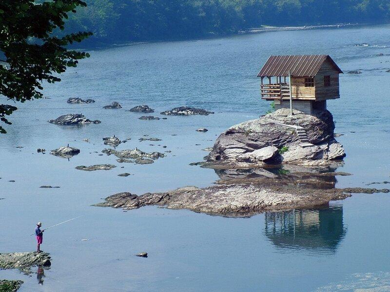 Сербия-река Дрина
