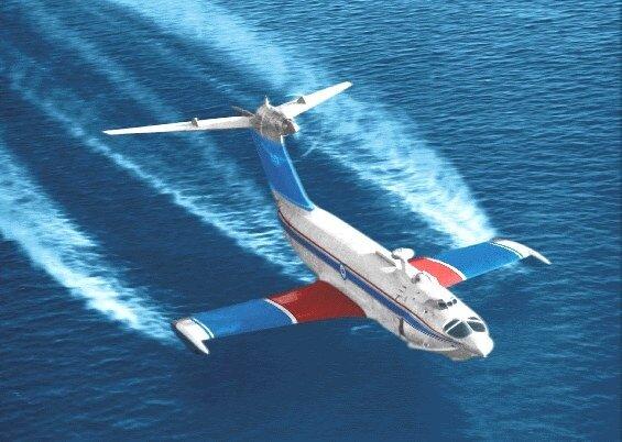 с близким по размерности и назначению летательным аппаратом - транспортным и даже немодифицированным Ил-76.