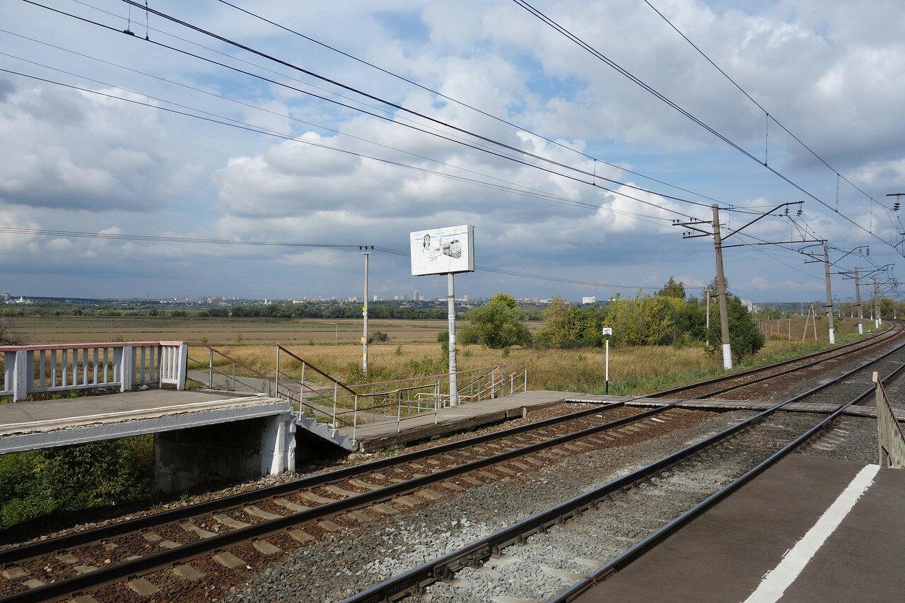 платформа 107 км Мск ЖД