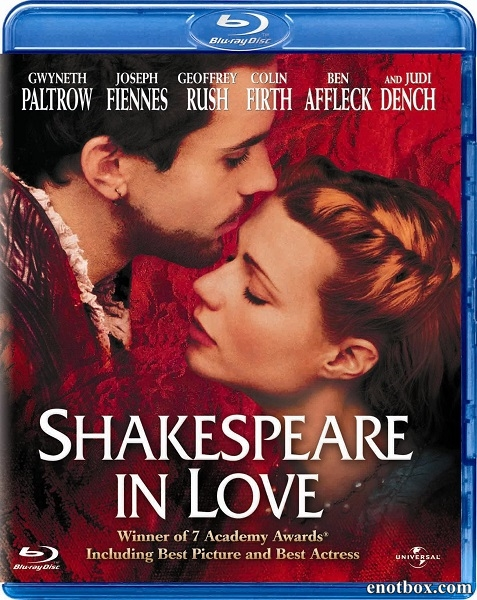 Влюбленный Шекспир / Shakespeare in Love (1998/BDRip/HDRip)