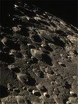 Окрестности кратеров Курций, Цах. Утро 4.10.2015г.