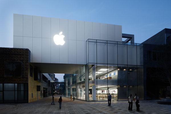 Самые красивые магазины Apple в мире