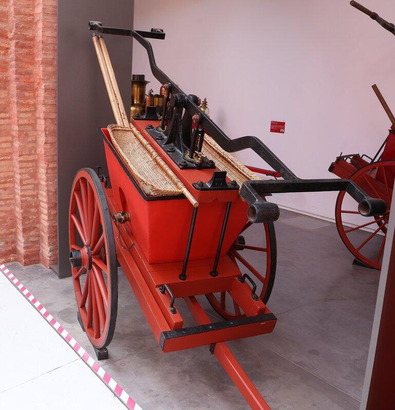 Сарагоса. Музей пожарного дела.