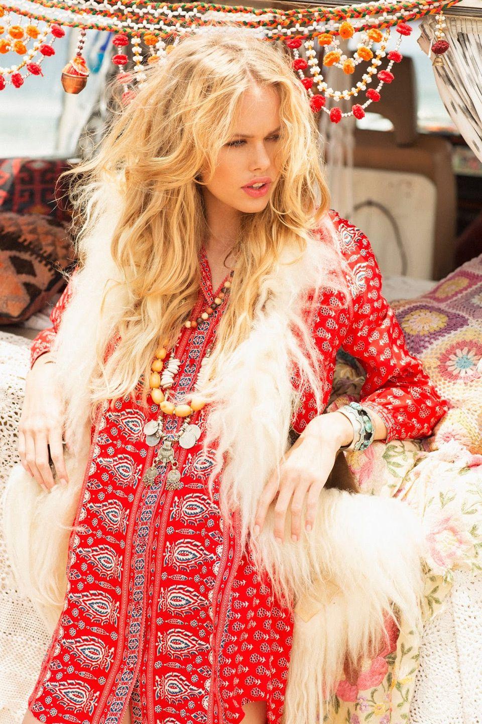 Лукбук Spell & The Gypsy Collective осень-зима 2015/16