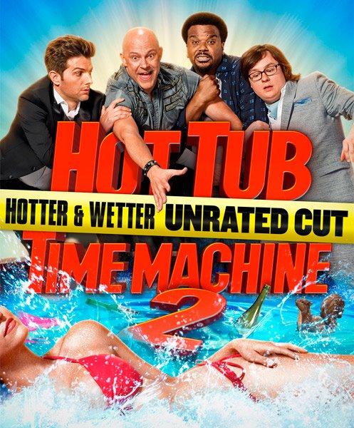 Машина времени в джакузи 2 / Hot Tub Time Machine 2 (2015/WEB-DL/WEB-DLRip)