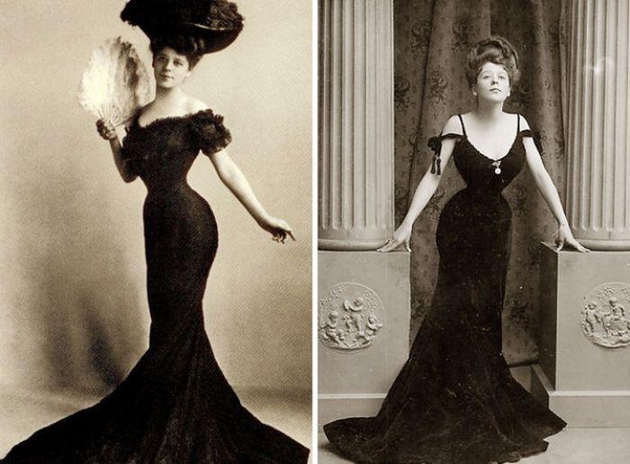 Идеалы женской фигуры минувшего столетия